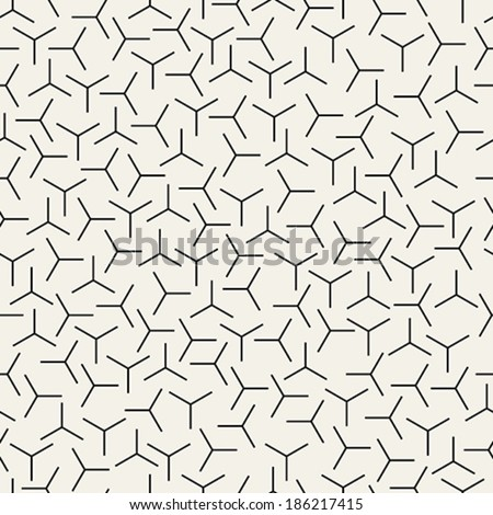 Seamless Propellers Pattern - stock vector