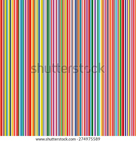 Seamless rainbow vertical stripes color line art vector background stock vector for Rainbow color stripe watch