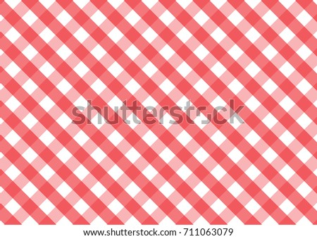 Seamless red and white tablecloth pattern, texture