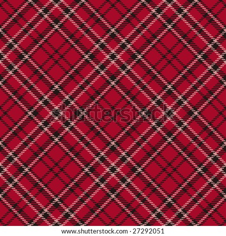 seamless repeating vector argyle pattern - stock vector