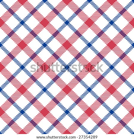 seamless repeating vector argyle patterns - stock vector