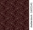 Seamless repeating wallpaper pattern - stock photo