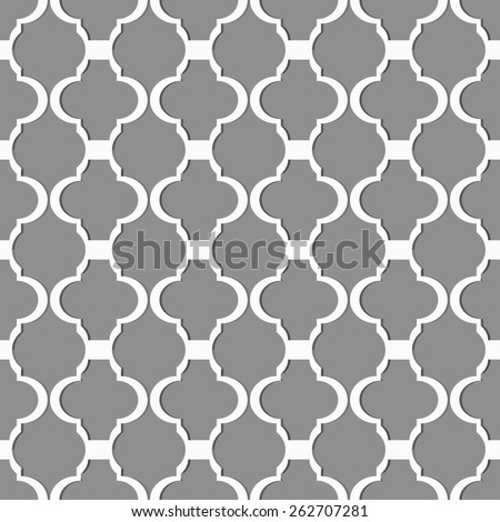 Seamless repetitive pattern. Grey background. - stock vector