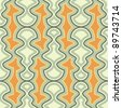 seamless retro abstract pattern - stock vector