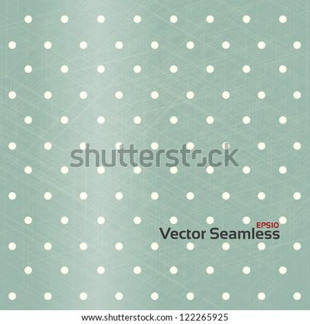 Seamless Retro Background. - stock vector