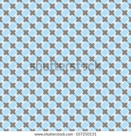 Seamless retro vector pattern. Sweet blue and dark grey background for website, wallpaper, desktop, invitations, wedding or birthday card and scrapbook.