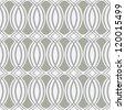 Seamless retro wallpaper pattern - stock vector