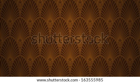 Seamless retro wallpaper (wall covering) with an old fill of New York and Atlantic city blues and jazz clubs. - stock vector