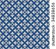 Seamless royal texture with fleur-de-lis - stock vector