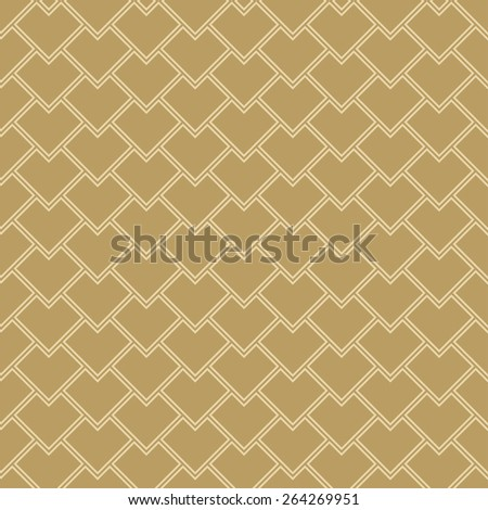 seamless scale pattern. vector background  - stock vector
