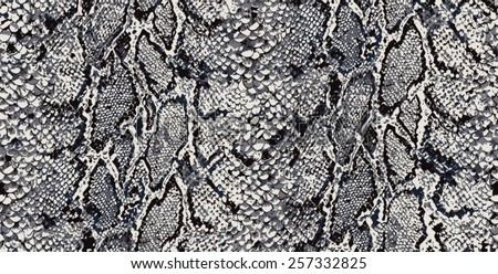 SEAMLESS SNAKE PYTHON TEXTILE PATTERN - stock vector