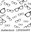 Seamless spectacles, glasses pattern, eyeglasses, specs pattern. Sunglasses - stock vector