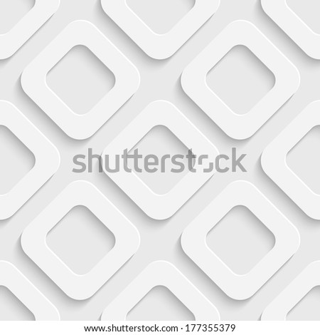 Seamless Square Background - stock vector