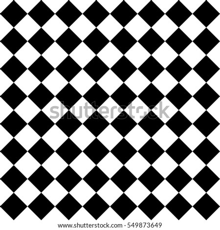 Seamless square pattern in black and white