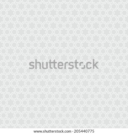 Seamless star pattern background illustration - stock vector