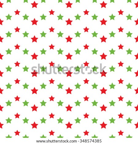 Seamless stars pattern. Garlands of stars. Abstract Vector Background. Seamless Christmas Pattern. New year background. Zigzag Pattern. Geometric Pattern. Wavy backdrop. Vector Regular Texture. - stock vector