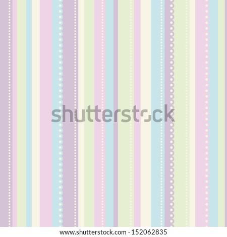 seamless stripes pattern - stock vector