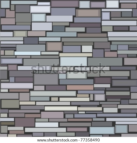 Decorative Stone Wall seamless structure decorative stone wall stock vector 77358490
