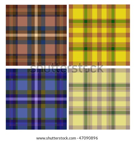 seamless textile background - stock vector