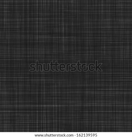 Seamless texture of black canvas. Vector illustration.
