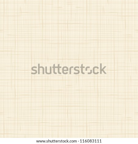 Seamless texture of canvas - stock vector