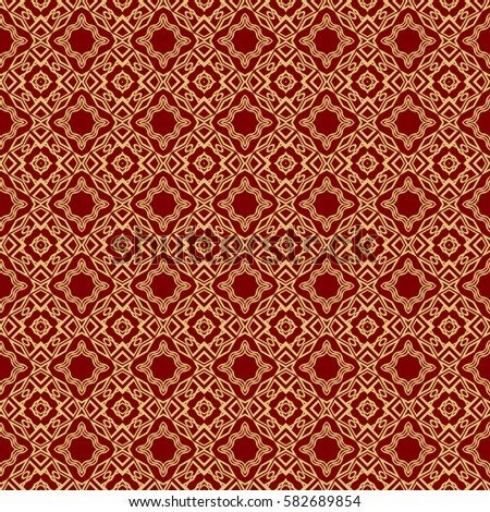 Seamless Texture Geometric Shape Mirror Illustration Stock ...