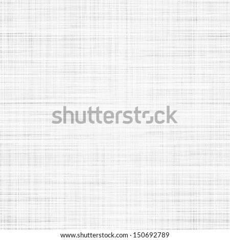 Seamless texture of white cloth. Vector illustration. - stock vector