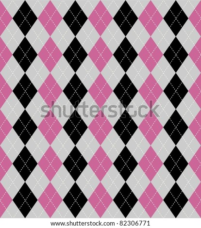 Seamless tile background with an argyle pattern