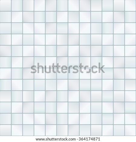 Seamless tiles background - stock vector