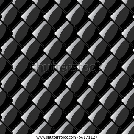 Seamless tiling pattern. - stock vector