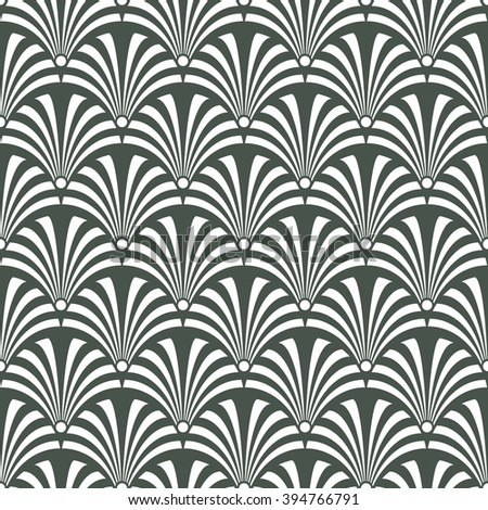 Seamless timber green luxury art deco peacock textile pattern vector