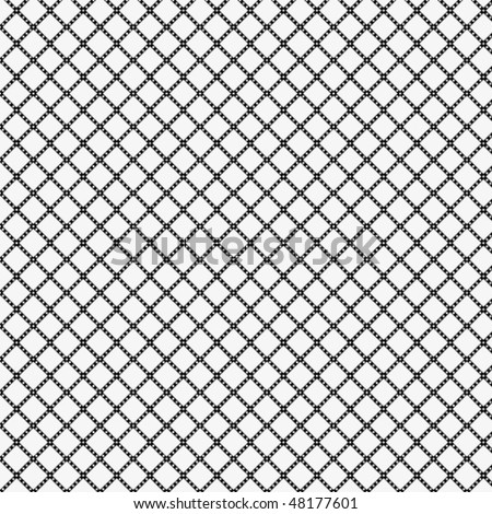 Seamless traditional tablecloth pattern - stock vector
