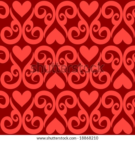 Seamlessly vector wallpaper valentine with hearts and superscription - Ihor Seamless S Quot Most Popular Seamless Patterns Quot Set On