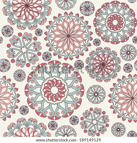seamless vector abstract pattern - stock vector