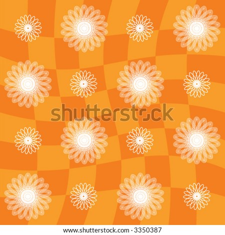 Seamless Vector Artwork Pattern - stock vector