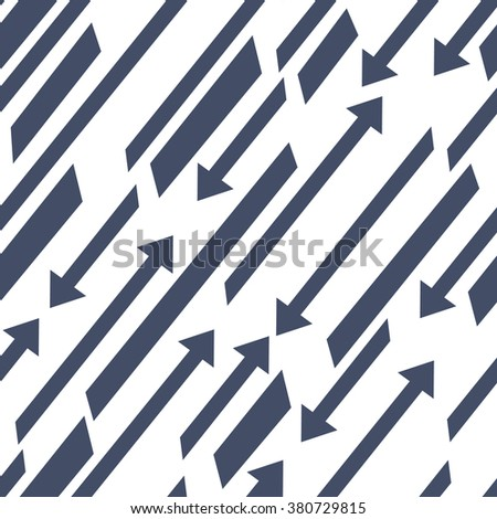 Seamless vector background. Abstract background. Ornament with arrows.Template for design.Arrow up. Arrow down.