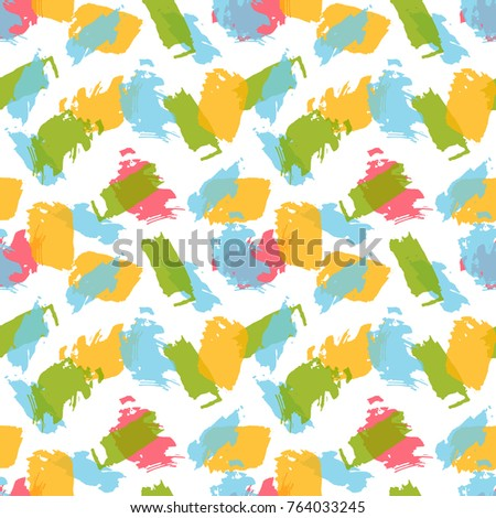 seamless vector decorative pattern with abstract ornaments background for printing on paper wallpaper - Pictures For Printing