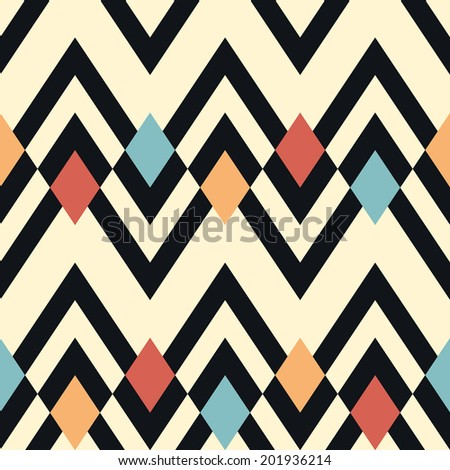 seamless vector geometric pattern background stock vector 201936214 rh shutterstock com vector of abstract geometric pattern and background vector geometric shapes pattern