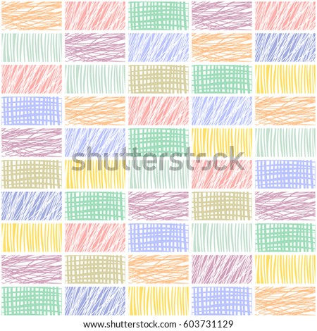 Doodle backgrounds big set abstract layouts stock vector 556654987 seamless vector geometrical pattern with rhombus squares endless background with hand drawn textured geometric pronofoot35fo Choice Image