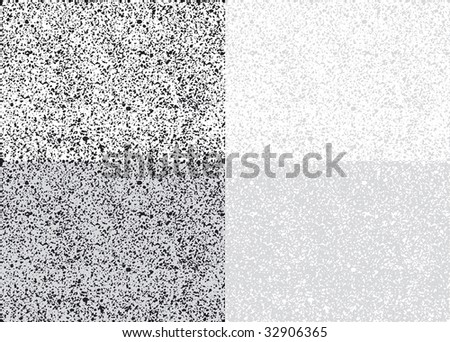 seamless vector noise pattern, both vertically and horizontally tile-able, editable and scalable vector illustration - stock vector