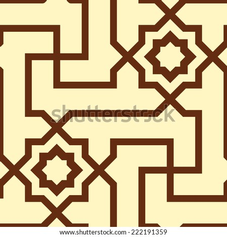 Seamless Vector Pattern - stock vector