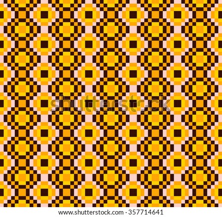 Seamless vector pattern national. Colourful ethnic ornamental patterns Mexican, Native American, Navajo and Aztec. Texture for scrapbooking, wrapping paper, textiles fashion, wallpaper, pattern fills. - stock vector