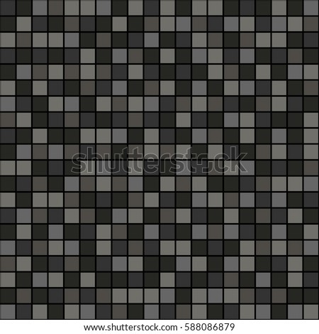Seamless vector pattern with squares. Simple checkered graphic design. drawn background with little decorative elements. Print for wrapping, web backgrounds, fabric, decor, surface.