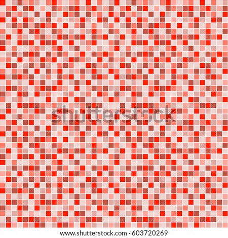 Seamless vector pattern with squares. Simple checkered graphic design. drawn background with little decorative elements. Print for wrapping, web backgrounds, fabric, decor, surface