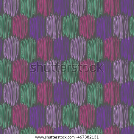 Seamless vector scribble pattern.Abstract seamless vector texture with multicolored brush strokes. Vector Pattern. Multicolored Pattern.Seamless Pattern.Repeating Background.