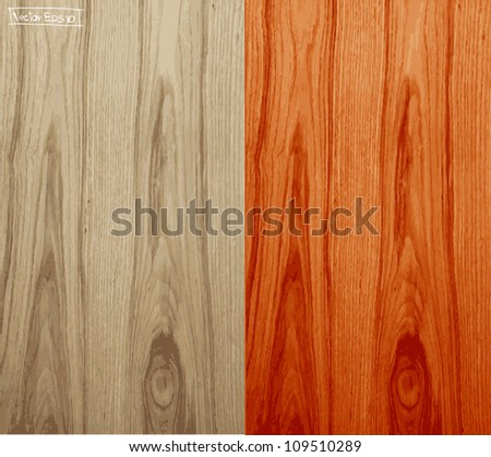 Seamless Vector Wood - stock vector