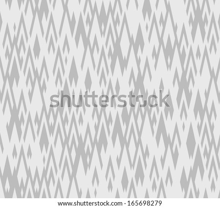 Seamless vector  zigzag pattern - stock vector