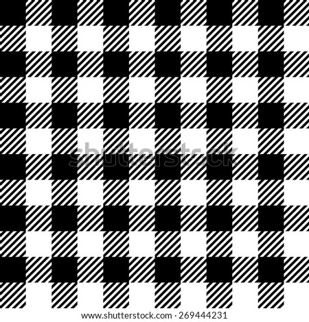 Seamless vichy pattern - stock vector