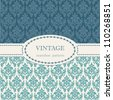 Seamless vintage background. Vector background for textile design. Wallpaper, background, repeating pattern - stock vector