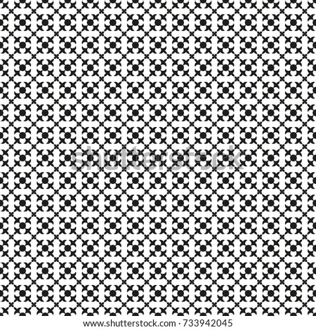 Seamless vintage damask pattern background in black and white